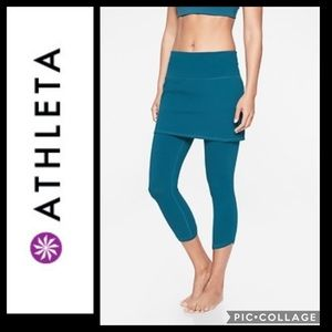 Athleta Meditation Leggings Organic Cotton Skirt M